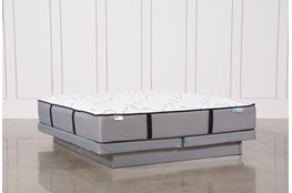 Kit-Revive Gel Springs Firm Eastern King Mattress W/Low Profile Foundation