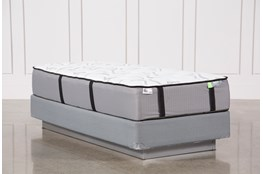 Gel Springs Medium Twin Extra Long Mattress W/Foundation