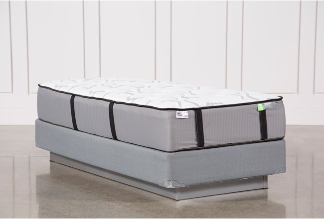 Gel Springs Medium Twin Extra Long Mattress W/Foundation - 360