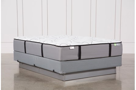 Gel Springs Medium Queen Mattress W/Foundation - Main