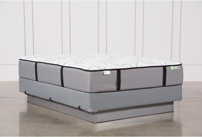 Gel Springs Medium Queen Mattress W/Foundation - 360