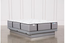Kit-Revive Gel Springs Medium Queen Mattress W/Low Profile Foundation