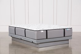 Revive Gel Springs Medium Queen Mattress W/Low Profile Foundation