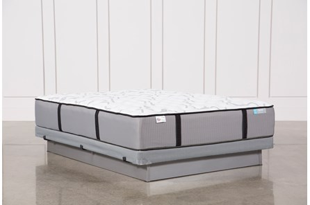 Gel Springs Medium Queen Mattress W/Low Profile Foundation - Main