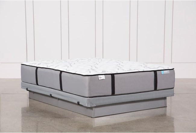Gel Springs Medium Queen Mattress W/Low Profile Foundation - 360