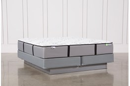 Gel Springs Medium Eastern King Mattress W/Foundation