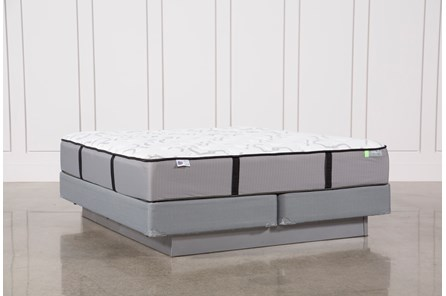 Gel Springs Medium Eastern King Mattress W/Foundation - Main