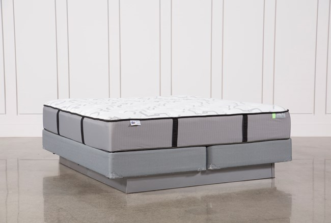 Gel Springs Medium Eastern King Mattress W/Foundation - 360