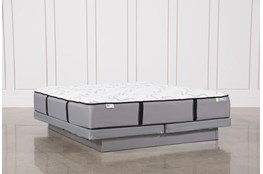 Kit-Revive Gel Springs Medium Eastern King Mattress W/Low Profile Foundation