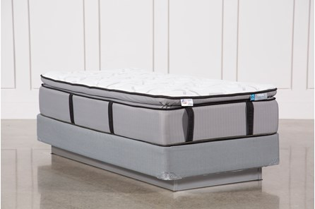 Gel Springs Plush Twin Mattress W/Foundation - Main