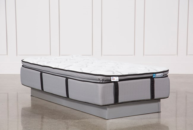 Gel Springs Plush Twin Extra Long Mattress - 360
