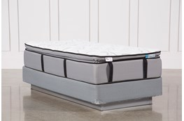 Kit-Revive Gel Springs Plush Twin Extra Long Mattress W/Foundation