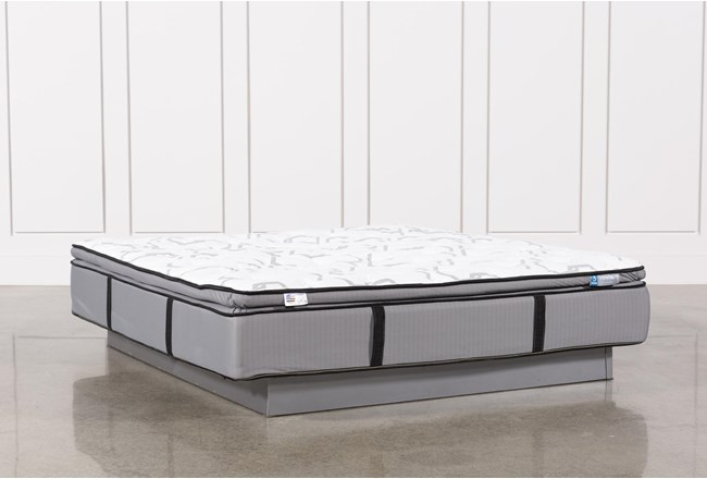 Gel Springs Plush Eastern King Mattress - 360