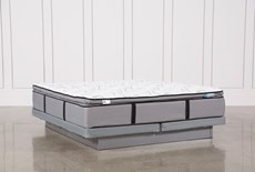 Gel Springs Plush Eastern King Mattress With Low Profile Foundation
