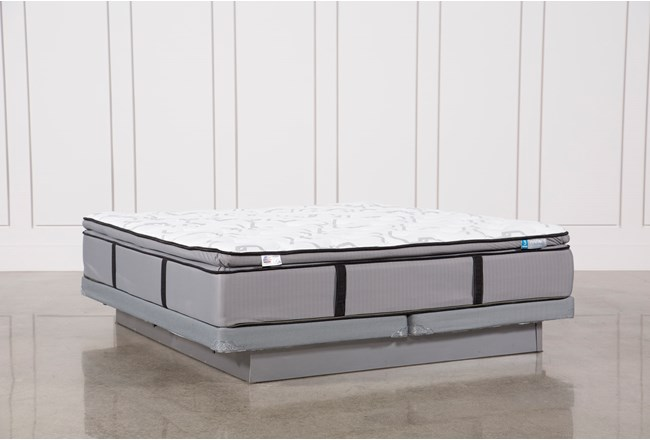 Kit-Revive Gel Springs Plush Eastern King Mattress W/Low Profile Foundation - 360