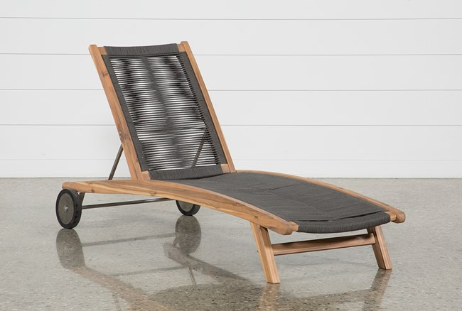 Outdoor Sienna Chaise Lounge - 360