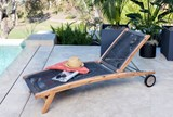 Outdoor Sienna Chaise Lounge - Room