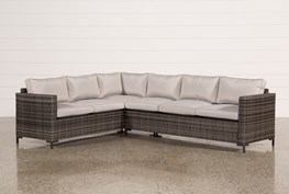 Outdoor Domingo Banquette Sectional