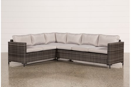 Outdoor Domingo Banquette Sectional - Main