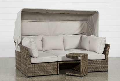 Brilliant Outdoor Aventura Ii Daybed Unemploymentrelief Wooden Chair Designs For Living Room Unemploymentrelieforg