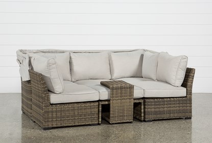 Fabulous Outdoor Aventura Ii Daybed Customarchery Wood Chair Design Ideas Customarcherynet