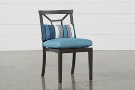 Outdoor Martinique II Aqua Dining Chair