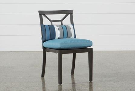 Outdoor Martinique II Aqua Dining Chair