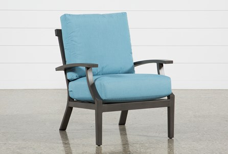 Outdoor Martinique II Aqua Lounge Chair