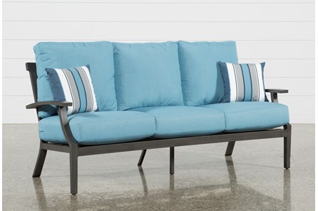 Outdoor Martinique II Aqua Sofa - Main
