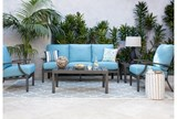 Outdoor Martinique II Aqua Sofa - Room