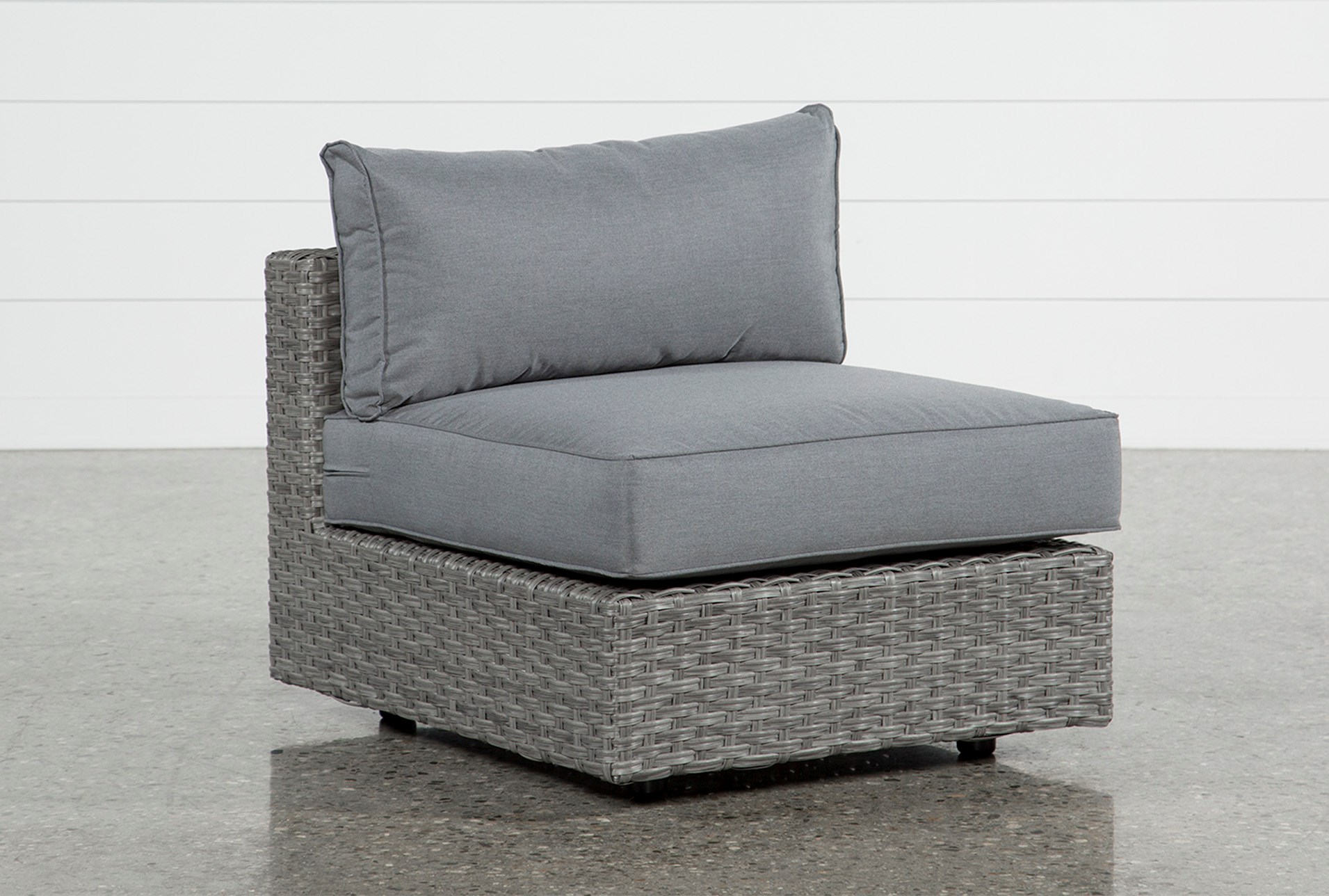 Koro Outdoor Armless Chair Living Es