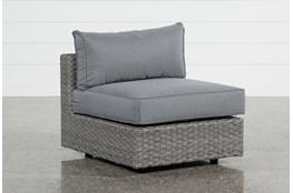 Koro Outdoor Armless Chair