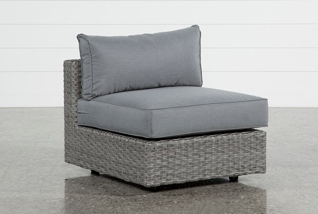 Koro Outdoor Armless Chair  - 360