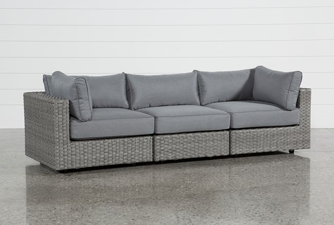 Outdoor Koro 3 Piece Sectional - 360