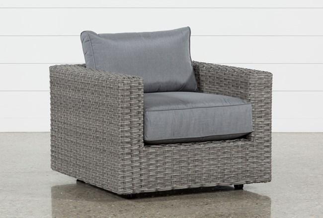 Koro Outdoor Swivel Chair - 360