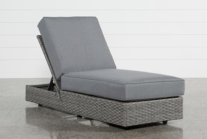 Outdoor Koro Chaise Lounge