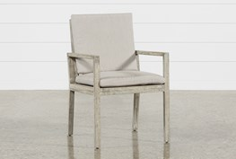 Outdoor PompeII Dining Arm Chair