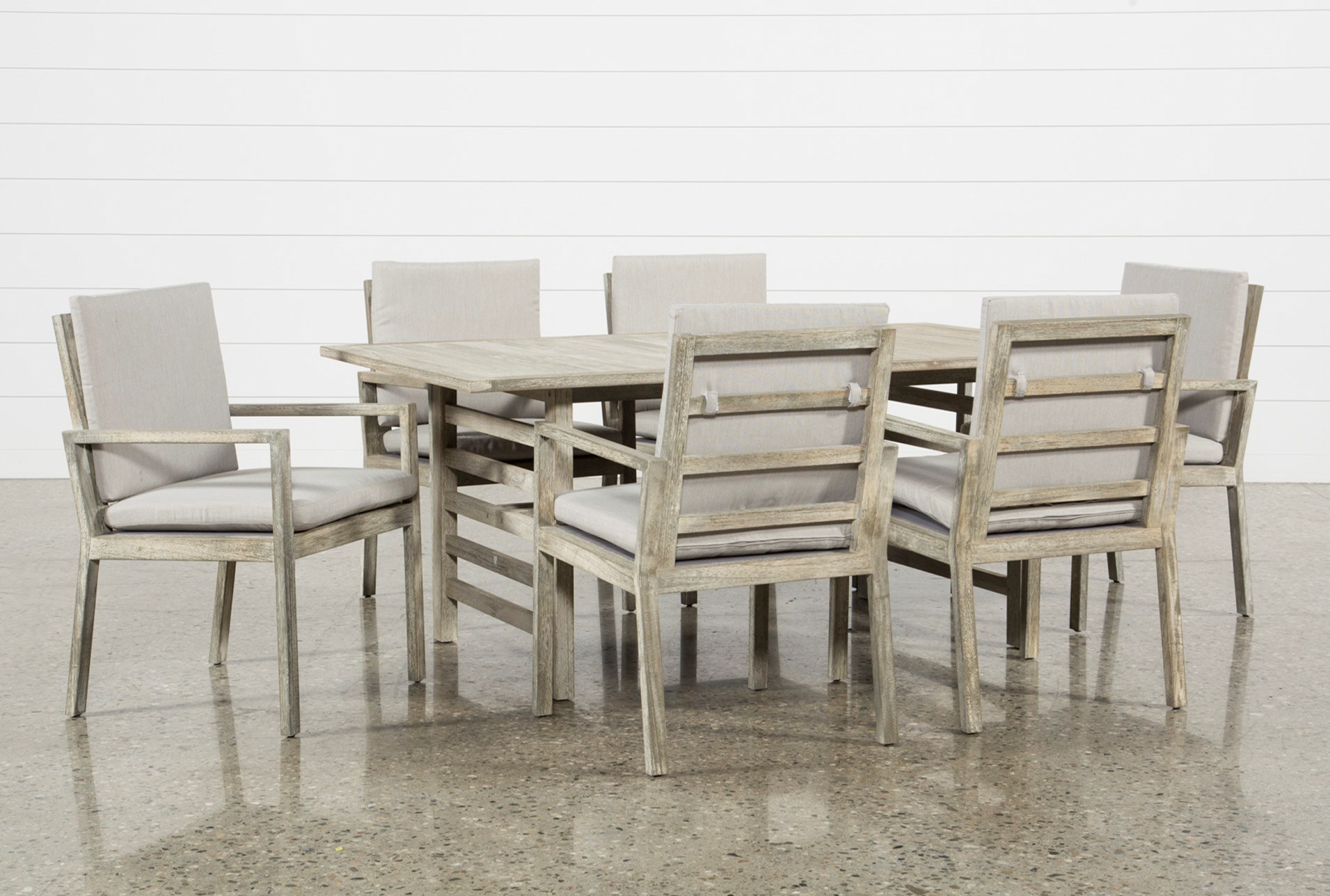 Outdoor dining sets for your backyard living spaces outdoor pompeii 7 piece dining set dzzzfo