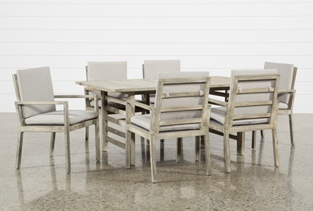 Outdoor PompeII 7 Piece Dining Set