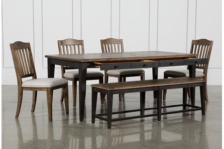 Foundry 6 Piece Dining Set - Main
