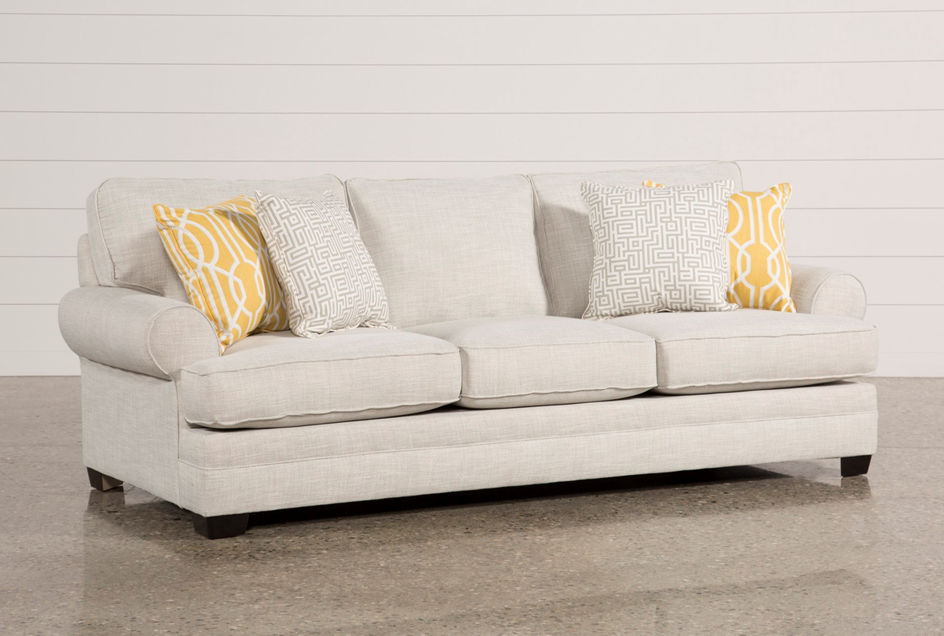 Fabric Sofas Couches Free Assembly With Delivery Living Spaces # Muebles Den Haag