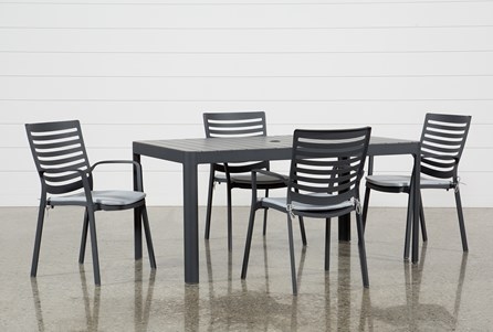 Outdoor Andaz 5 Piece Dining Set