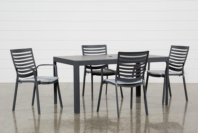 Outdoor Andaz 5 Piece Dining Set - 360