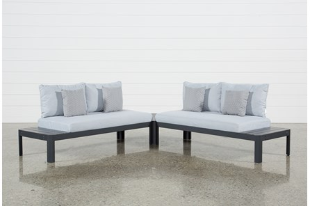 Outdoor Andaz 2 Piece Sectional & Cocktail Table - Main