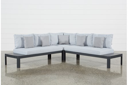 Outdoor Andaz 3 Piece Sectional - Main
