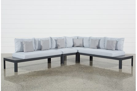Outdoor Andaz 4 Piece Sectional - Main