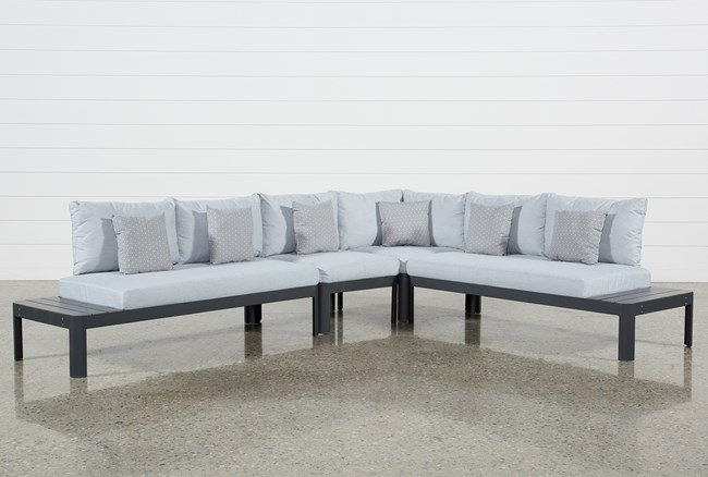 Outdoor Andaz 4 Piece Sectional - 360