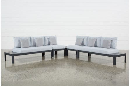 Outdoor Andaz 4 Piece Sectional & Cocktail Table - Main