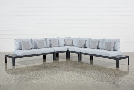 Outdoor Andaz 5 Piece Sectional
