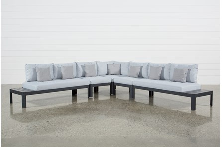 Outdoor Andaz 5 Piece Sectional - Main